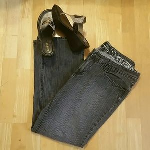 GUC, Women's boot cut jeans